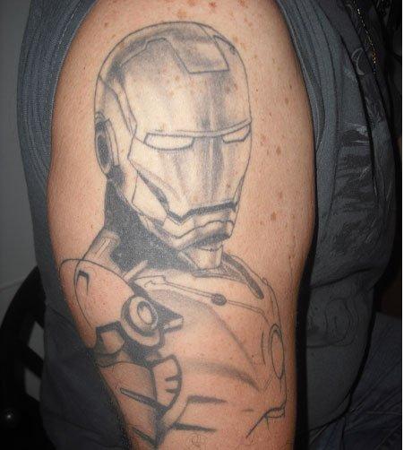 Tatuagens de O Homem de Ferro (2)