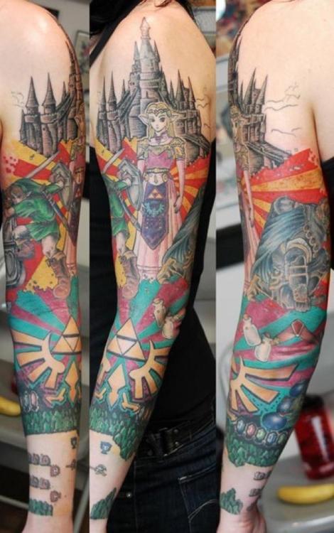 Tatuagens de The Legend Of Zelda (48)