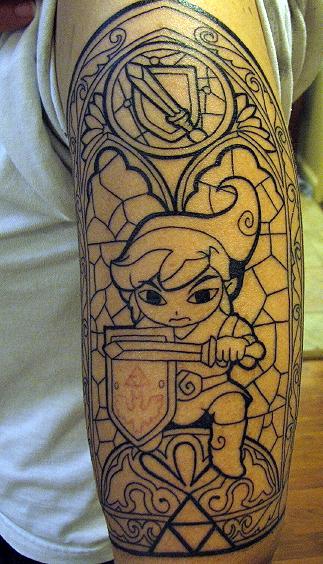 Tatuagens de The Legend Of Zelda (39)
