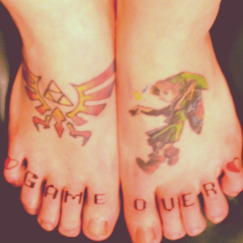 Tatuagens de The Legend Of Zelda (34)