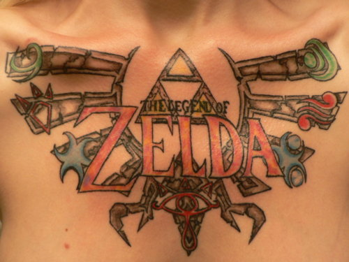 Tatuagens de The Legend Of Zelda (1)