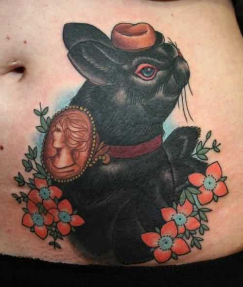 Tatuagens de Coelhos (36)