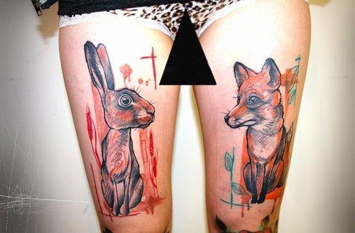 Tatuagens de Coelhos (17)
