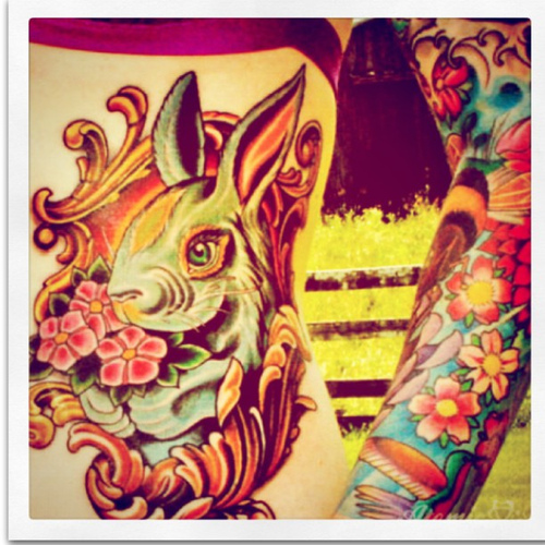 Tatuagens de Coelhos (11)