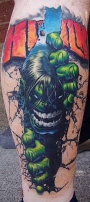 Tatuagens do Incrível hulk (62)