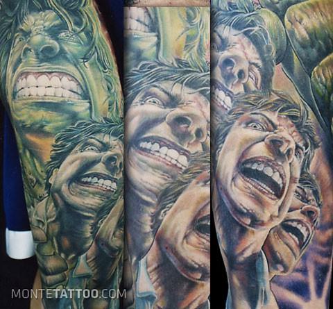Tatuagens do Incrível hulk (60)
