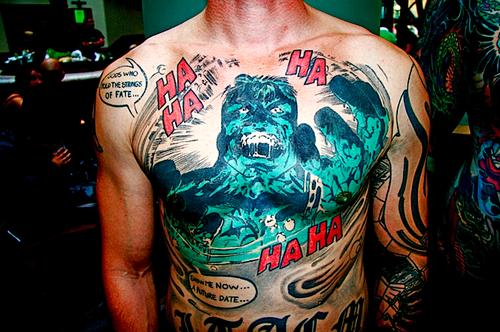 Tatuagens do Incrível hulk (59)