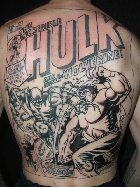 Tatuagens do Incrível hulk (58)