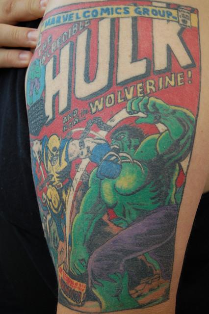 Tatuagens do Incrível hulk (55)