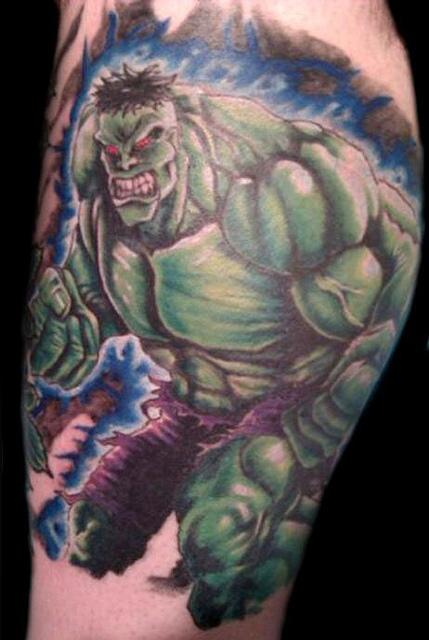Tatuagens do Incrível hulk (53)