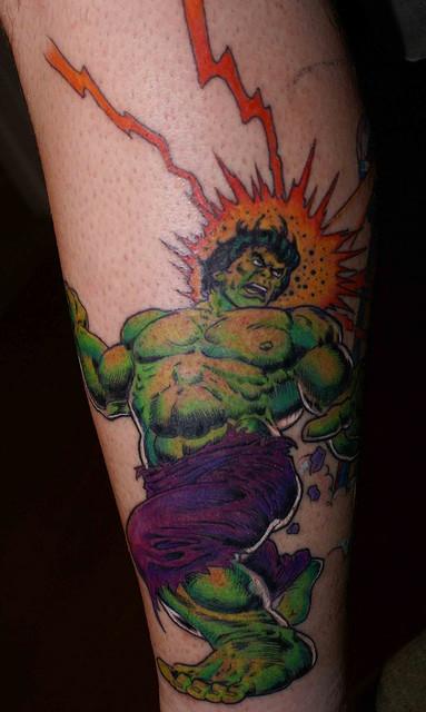 Tatuagens do Incrível hulk (52)