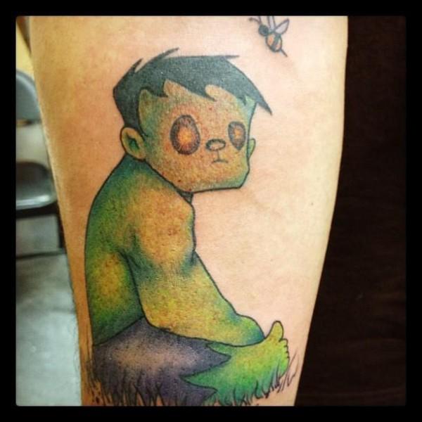 Tatuagens do Incrível hulk (51)