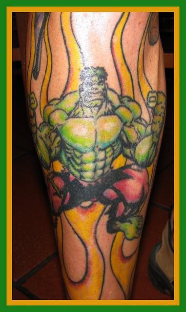 Tatuagens do Incrível hulk (50)
