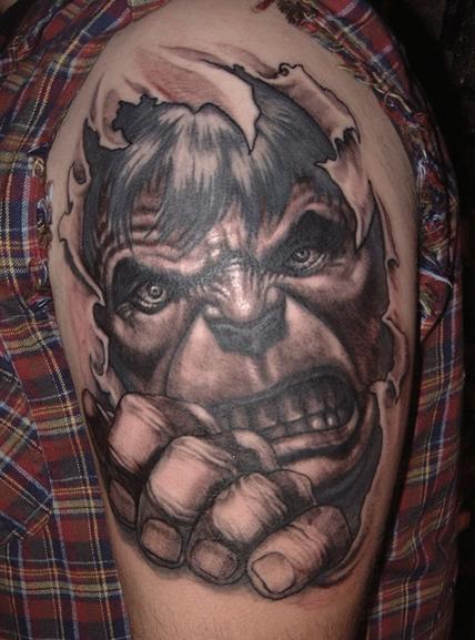 Tatuagens do Incrível hulk (48)