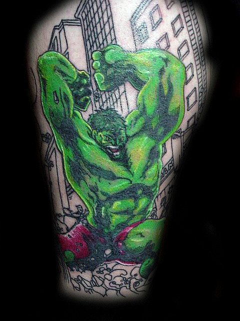 Tatuagens do Incrível hulk (47)