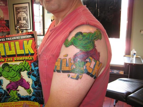 Tatuagens do Incrível hulk (45)