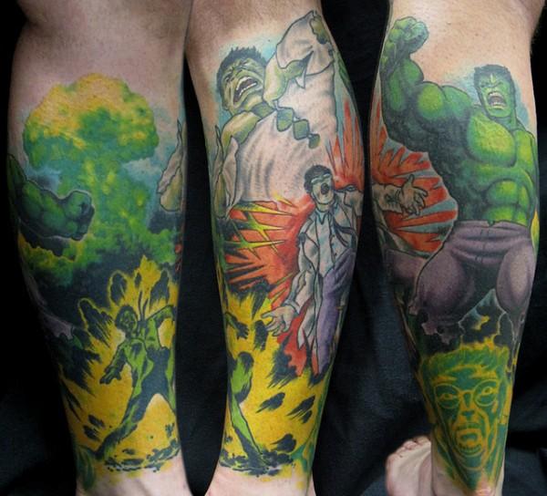Tatuagens do Incrível hulk (44)