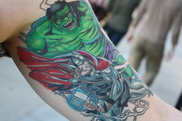 Tatuagens do Incrível hulk (39)