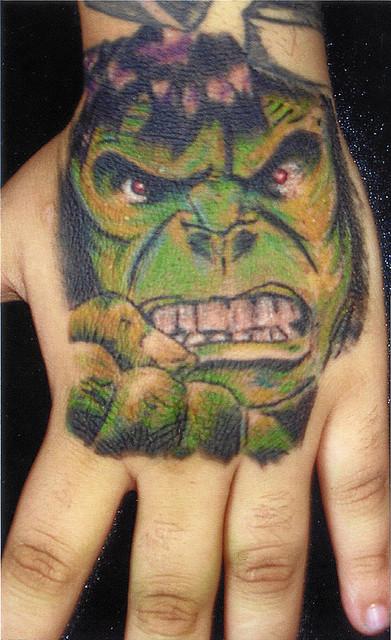 Tatuagens do Incrível hulk (38)