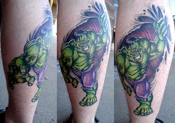 Tatuagens do Incrível hulk (36)