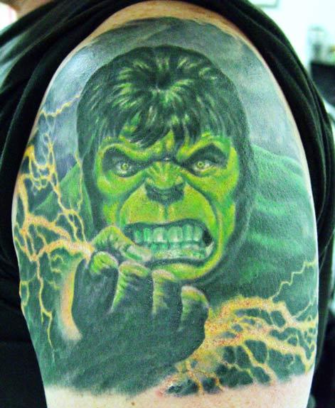 Tatuagens do Incrível hulk (32)