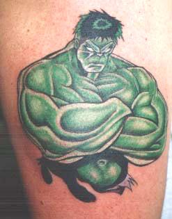 Tatuagens do Incrível hulk (30)