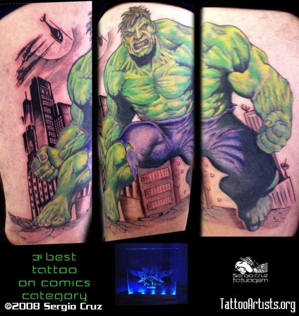 Tatuagens do Incrível hulk (27)
