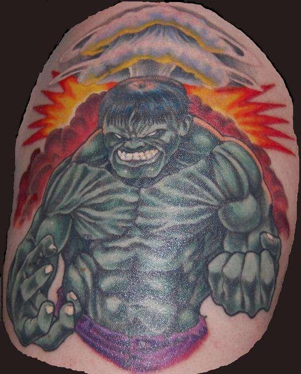 Tatuagens do Incrível hulk (25)