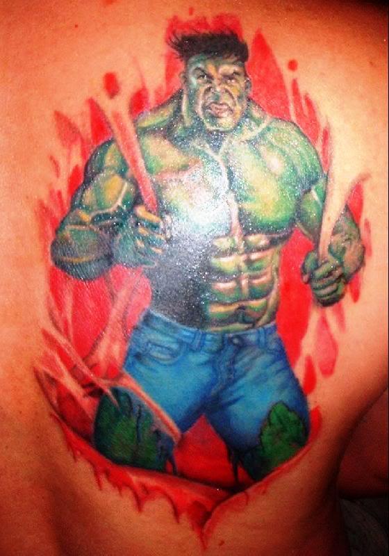 Tatuagens do Incrível hulk (24)