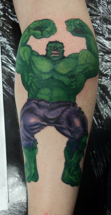 Tatuagens do Incrível hulk (18)