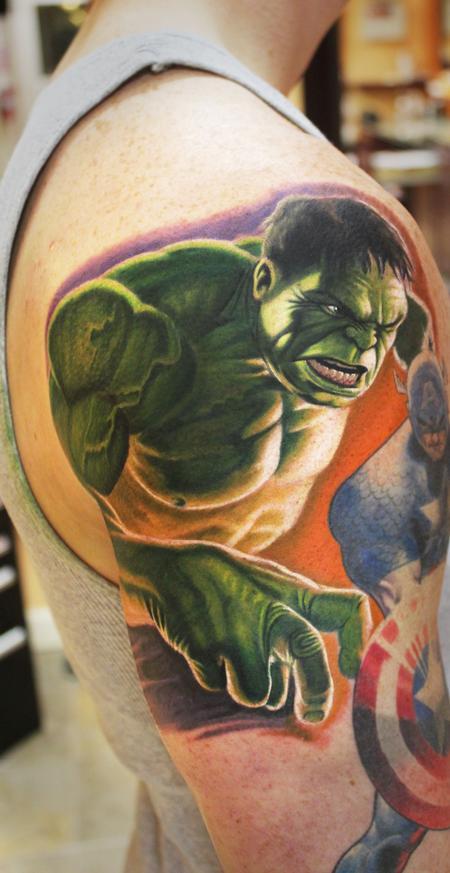 Tatuagens do Incrível hulk (10)