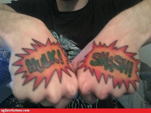 Tatuagens do Incrível hulk (9)