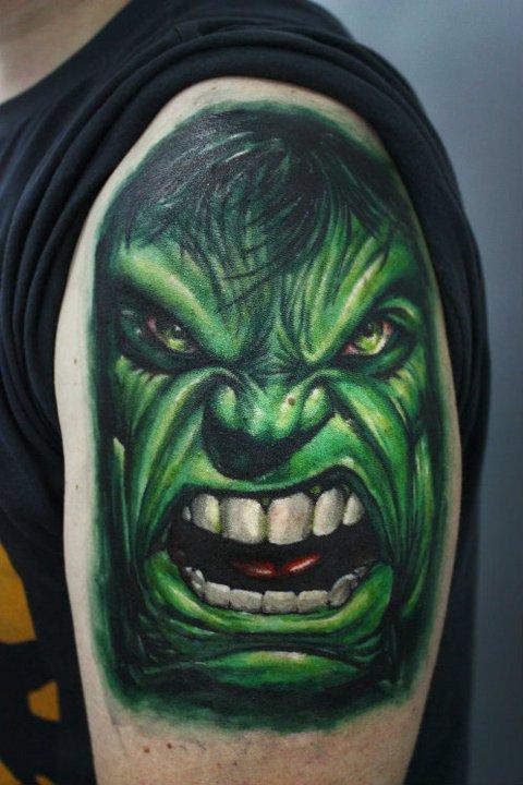 Tatuagens do Incrível hulk (8)