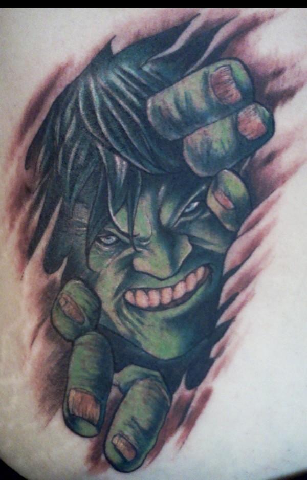 Tatuagens do Incrível hulk (7)
