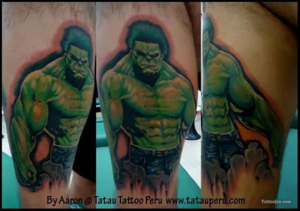 Tatuagens do Incrível hulk (6)