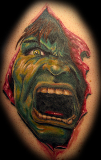 Tatuagens do Incrível hulk (2)