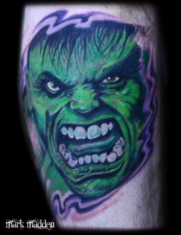 Tatuagens do Incrível hulk (1)