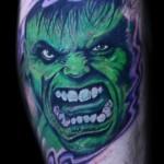60 tatuagens do Incrível Hulk