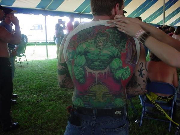 Tatuagens do Incrível hulk (40)