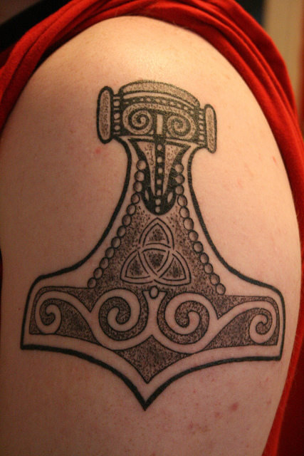 Mjolnir tattoo tumblr