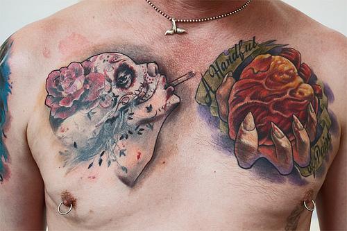 Tatuagens no Peito (4)