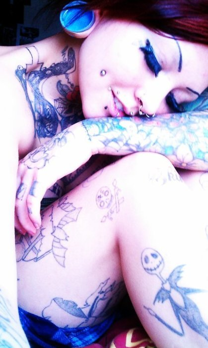 Fotos de mulheres tatuadas (20)