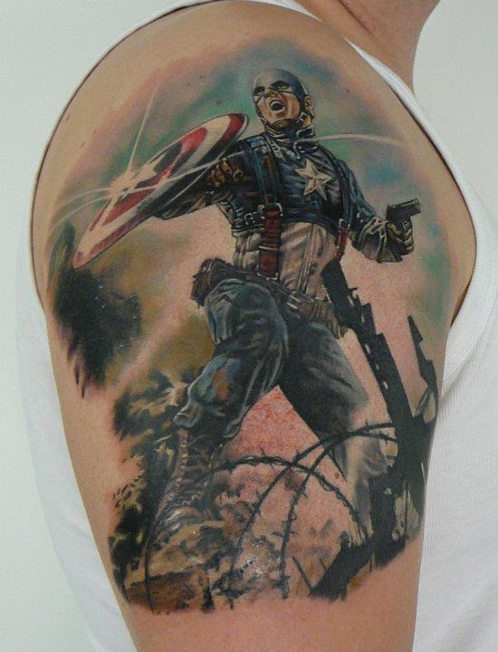 Tatuagens do Capitão América (20)