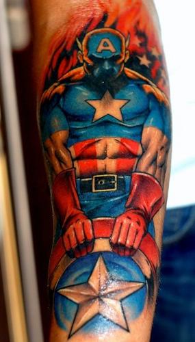 Tatuagens do Capitão América (6)