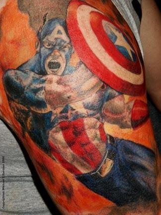 Tatuagens do Capitão América (5)