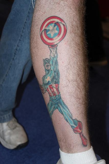 Tatuagens do Capitão América (4)