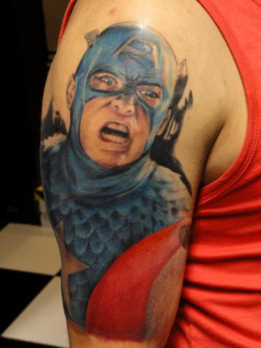 Tatuagens do Capitão América (3)