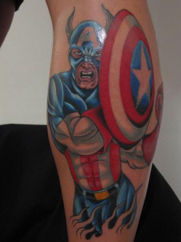 Tatuagens do Capitão América (1)