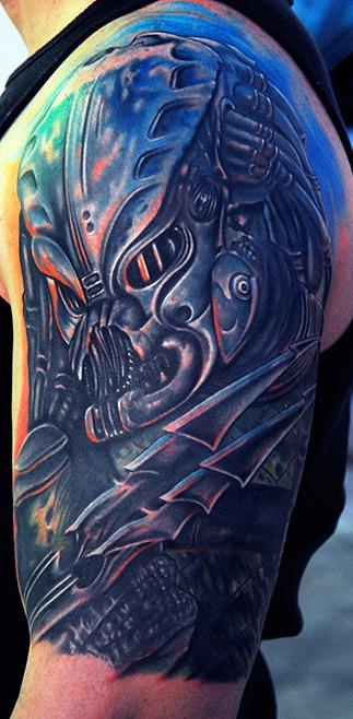 Tatuagens de O Predador (1)