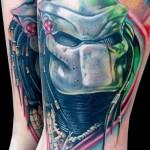 60 tatuagens de O Predador